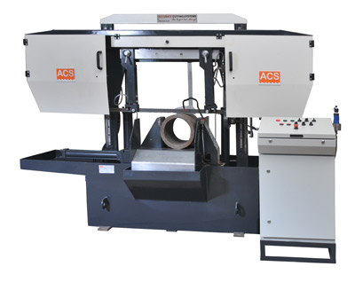 Double Column Fully Automatic Mitre Band Saw Machines